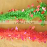 PET wire thin strips and carrot plastic New Spring garland