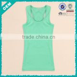 New ! hot sale china summer sport cotton ladies top, plain cotton ladies top (lyt-04000360)