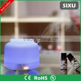 Mini spray bottle aroma diffuser gift set colorful LED portable air conditioner for car                                                                                         Most Popular