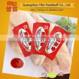 6g hot chili sauce sachet mini package OEM product