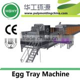 Paper Product Making Machinery Fully Automatic egg tray machine 7000 PCS/hour XZ12-16040-E7000B1C