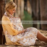 Z81783B fashion printed wholesale maternity clothes nursing cover                                                                                                         Supplier's Choice