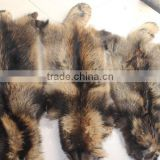 Factory Price Animal Skins Natural Real Raccoon Fur Skins