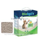 Dust-free & 100% natural bentonite clumping clay Biokat's Micro Fresh cat litter