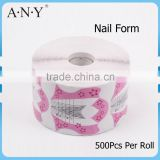 ANY Paper Nail Art Form Nail Shaping Tool Extension Forms 500Pcs