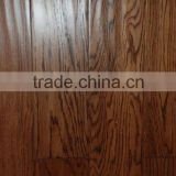 oak antique flooring-hand-scraped hardwood/solidwood