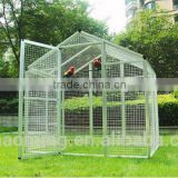 wholesale aluminium and iron bird cages garden decoration with patent new stytle