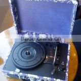 Vinyl Record Player Suitcase Gramophone with PC Recording Wholesales