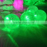 Christmas wedding party holiday indoor outdoor battery LED string lights -bubble bead