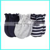 Random color cotton mittens for newborn baby