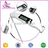 Silver LCD Screen Digital Instant Read Wireless Cooking Food Meat Thermometer                                                                         Quality Choice