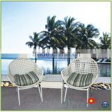 Casablanca new design outdoor garden patio rattan table arm chair                                                                         Quality Choice
