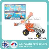 Newest DIY die cast building block metal building blocks toys for kids