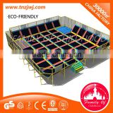 guangzhou manufacturer cheap baby trampoline park for trampoline sports with soft ball pool