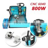 Hot Sale jewelry/metal marking machine,portable laser marking,metal engraving machine cnc 6040 800W + 4 axis