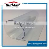 CRYSTAL CLEAR RAW MATERIAL PVC COATED TARPAULIN FOR TENT