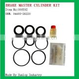 toyota hiace parts #000592 brake master cylinder kit for hiace Toyota piston kit 04493-26220