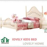 wooden single bed designs HA-817# wooden single bed with drawer models wood bed for kids