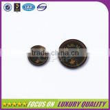 Fashion nature buffalo horn classical button for coat