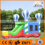 Colorful fashionable design chidren enjoyment cute inflatable balloon jumping castle