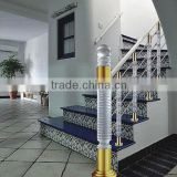 crystal glass material k9 k5 acrylic stair railing,indoor decorative railing in alibaba china supplier