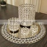 Wedding Centerpiece/ Full Set For Weddings Decor/ Wedding Decoration / Wholesale/ Crystal Collection.