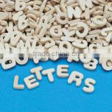 Wood English Letter Heart Five Angular Multilateral DIY Manual Process Letters Laser Cutting Letters Can Be Customized