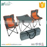 Kids camping chair and table set