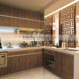 BISINI Chinese Style Interior Wood Kitchen Cabinet Design