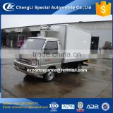 china cheapest 6 wheel gasoline foton mini ice cream van for sale