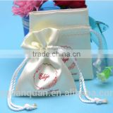 Yiwu hair extension packaging satin bag
