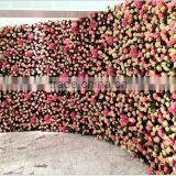 New styles artificial flower wall wedding & environmental backdrop artificial flowers wall