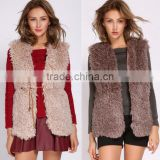 wholesale autumn and winter new women imitation fox rabbit fur vest