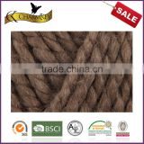 Charmkey thick knitting yarn sweater yarn acrylic wool blended yarn wholesale from China