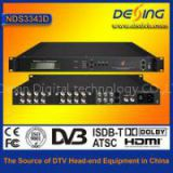 Dexin NDS3343D digital satellite receiver with mux-scr and qam modulator