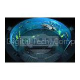 Outdoor Scenic 4D 5D 6D 7D XD Movie , Ball / Globular 360 degree screen 4D Theater System
