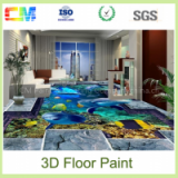 Liquid Epoxy Floors 3D Paint