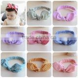 Baby Rabbit Bow Turban Knot Headband Hairband Headwear Baby Kids Infant Children Accessories