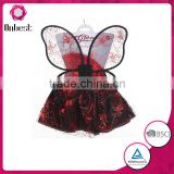 High quality SW1105 Kids dance costumes wings, birthday tutu dress for baby girls halloween tutu set