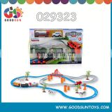 plastic roller coaster toy for kids battery operated track cars kids small toy cars 029323