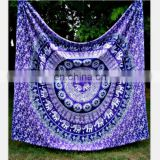 home decorative European wholesale indian tapestry wall hangings Beach Throw Towel Yoga Mat Tapestry