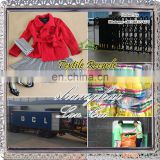 used colored winter clothing and summer clothing