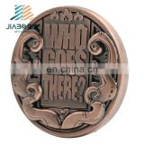 Commemorative Souvenir custom antique copper metal challenge coin