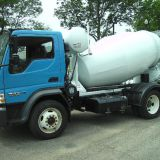 The 3-5 Square Concrete Mixer Truck