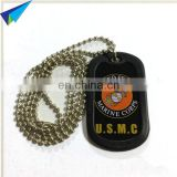 Hot selling customized dog tags with rubber frame