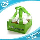 For Take Out 4cups or More Tray Reusable Durable Non Woven Coffee Carrier Bag