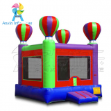 colorful outdoor inflatable balloon jumping bouncer for children play