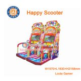 Zhongshan amusement equipment redemption, Happy Scooter 1P, coin operated game machine, redemption, racing simulator