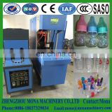PET bottle blowing machine/ semi-automatic bottle blow moulding machine/ plastic bottle making machine price