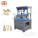 Professional Design Automatic Ice Cream Wafer Making Snow Cone Baking Maker Pizza Cone Machine Price